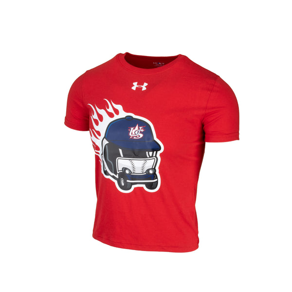 Youth UA Red Wild Thing Tee