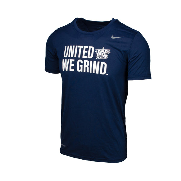Navy United We Grind Legend Tee