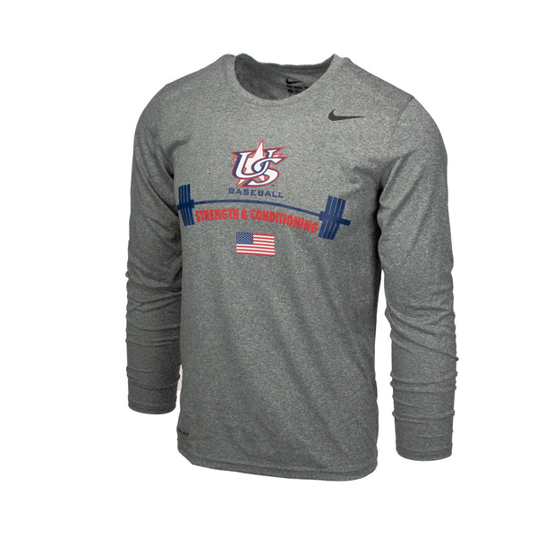 Long Sleeve Strength & Conditioning Tee