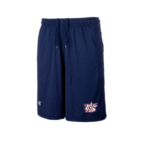 UA Navy Shorts With Pockets