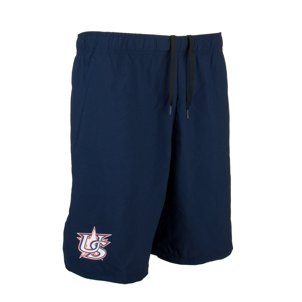 Nike Navy Woven Training Shorts With Pockets