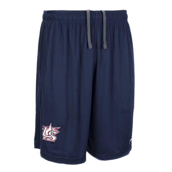 Navy Shorts With Pockets