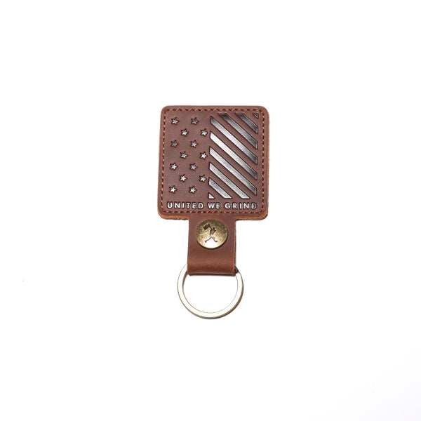 Baseballism Stars & Stripes Glove Leather Key Chain