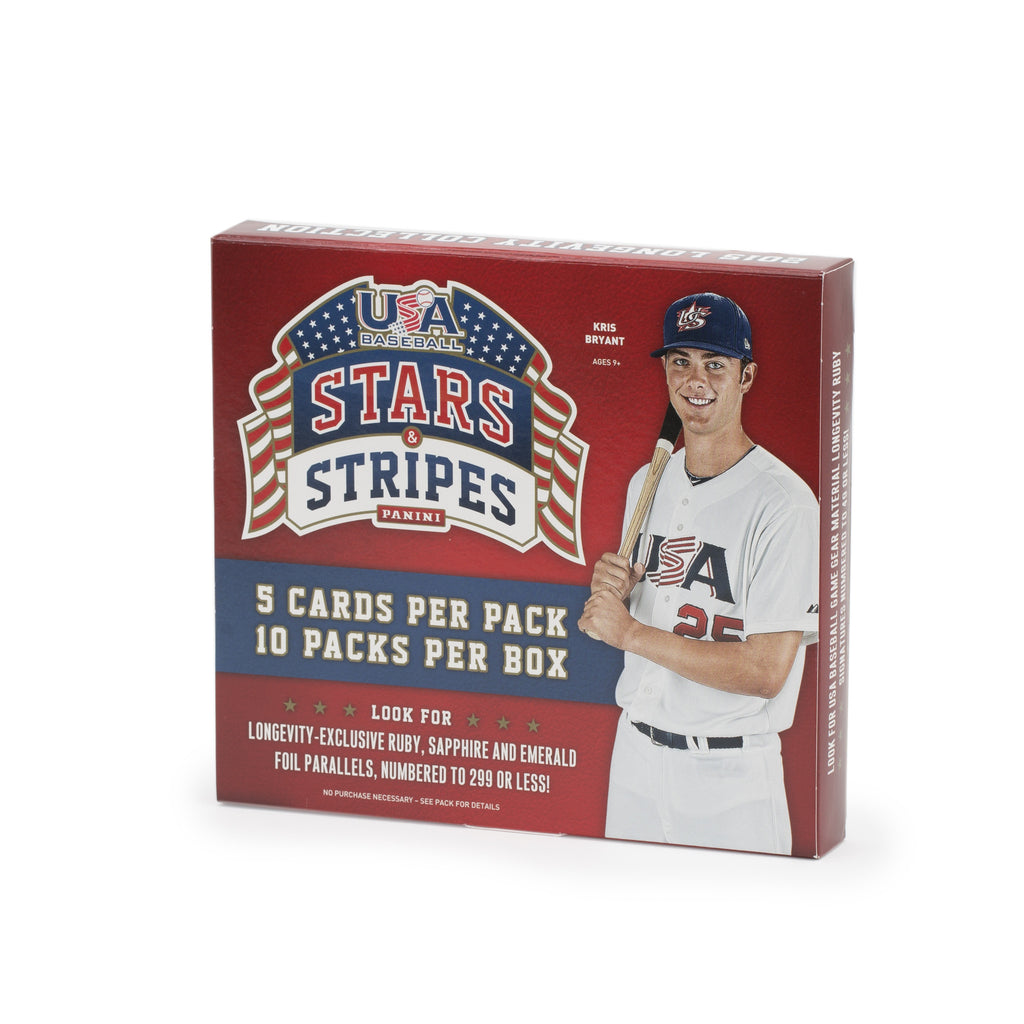 2015 USA Baseball Stars & Stripes Longevity Retail Box