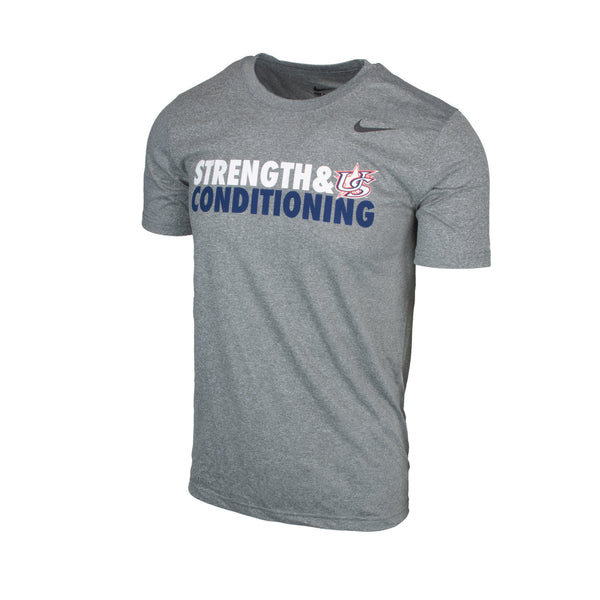 Grey USAB Strength & Conditioning Legend Tee