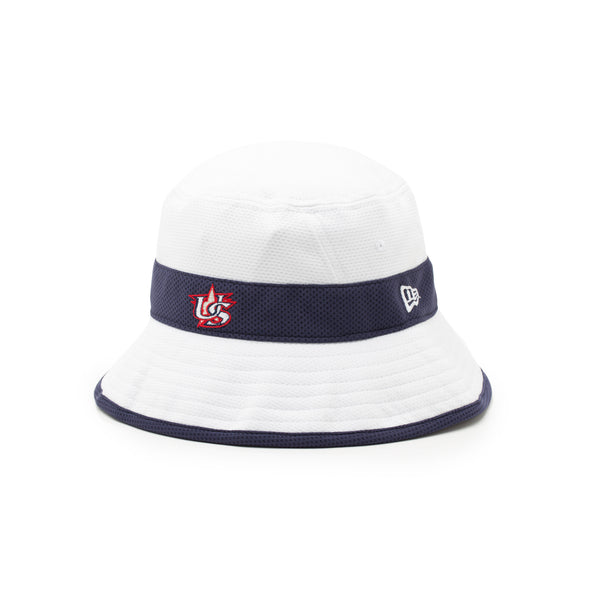 Navy Stripe Bucket