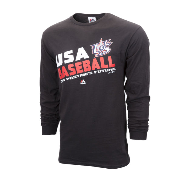 Black Long Sleeve Team Choice Tee