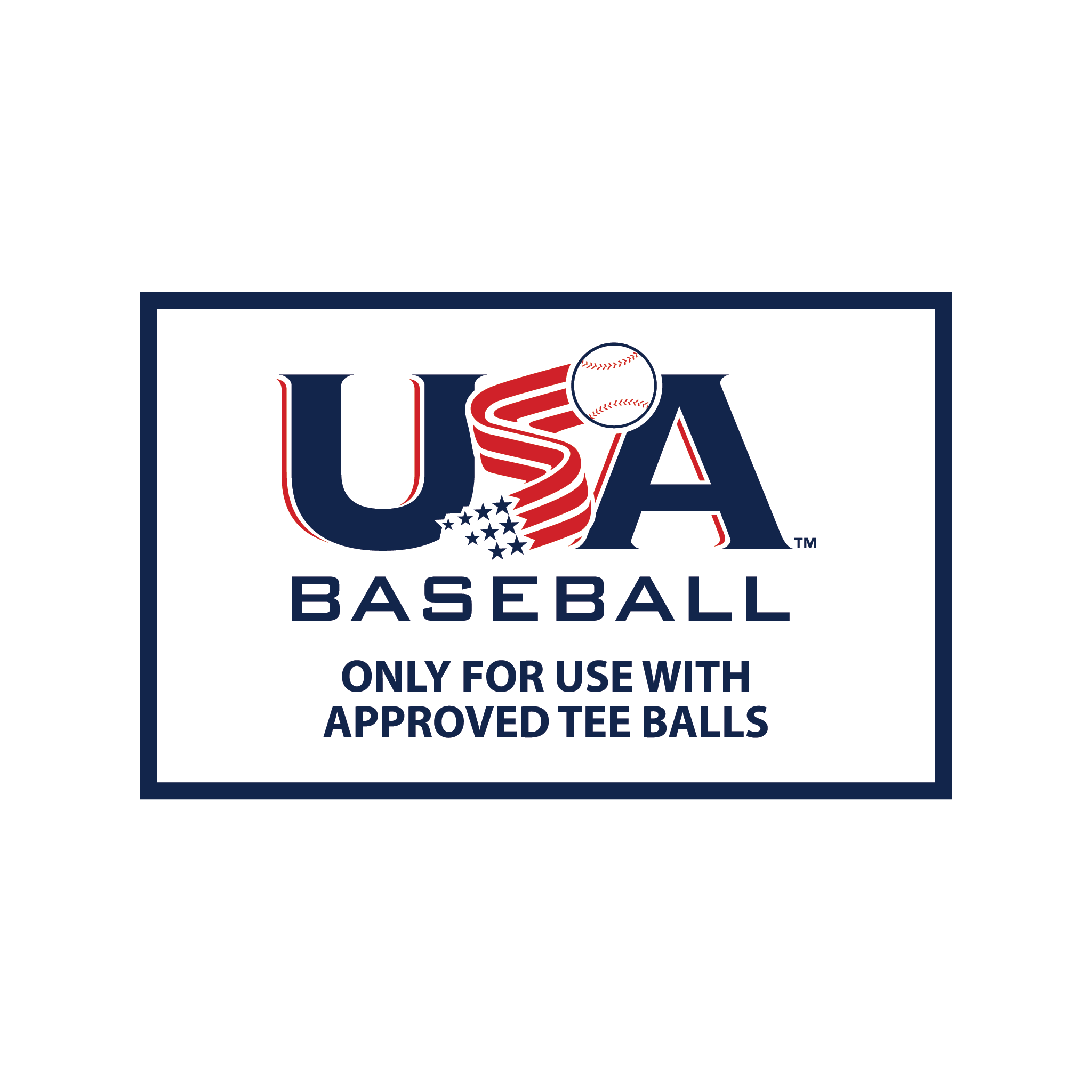 USABat Tee Ball Sticker