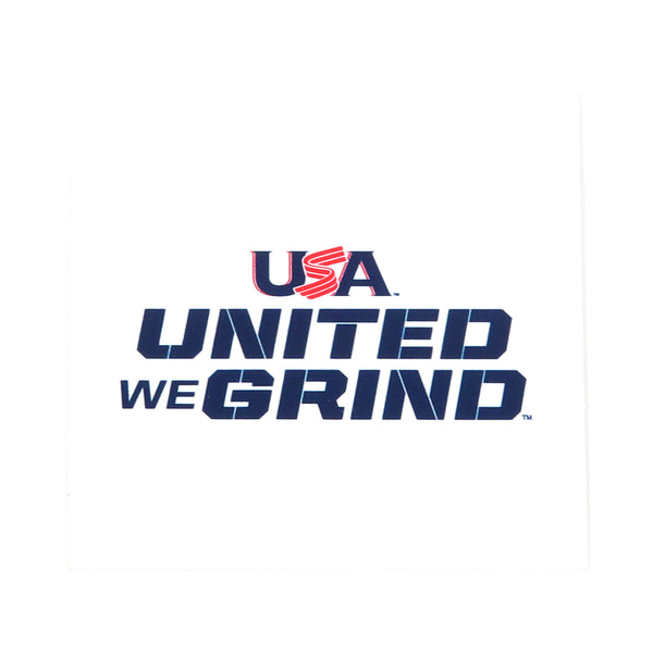 United We Grind Decal