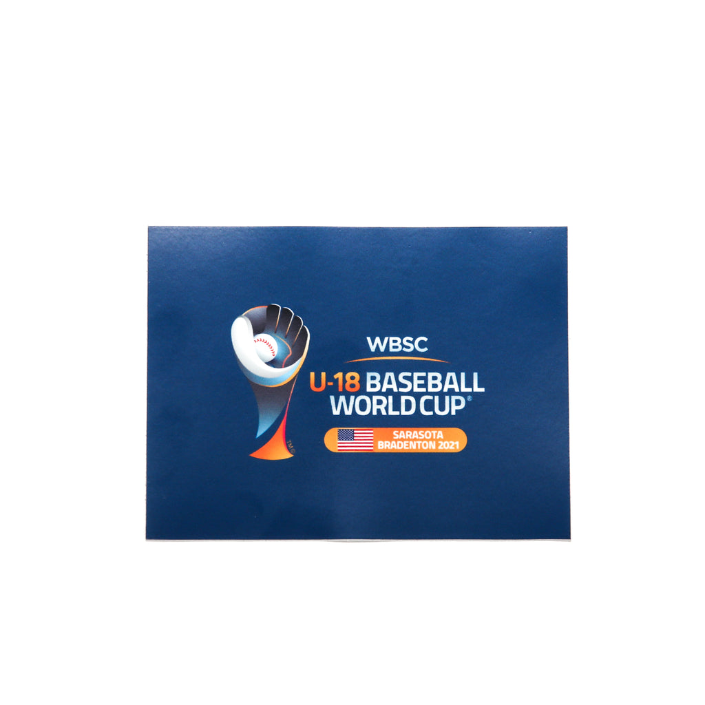 U-18 Baseball World Cup 2021 Decal