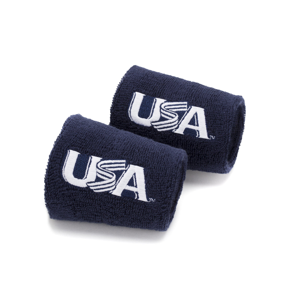 Navy 4 Inch Wristbands