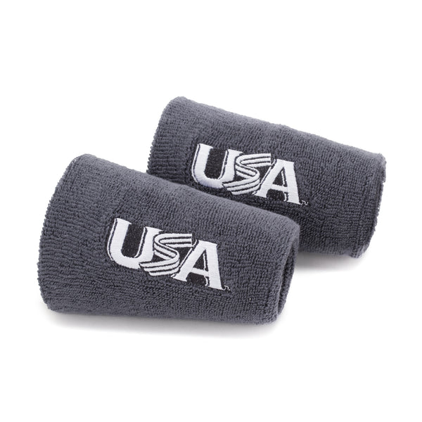 Grey 6 Inch Wristbands