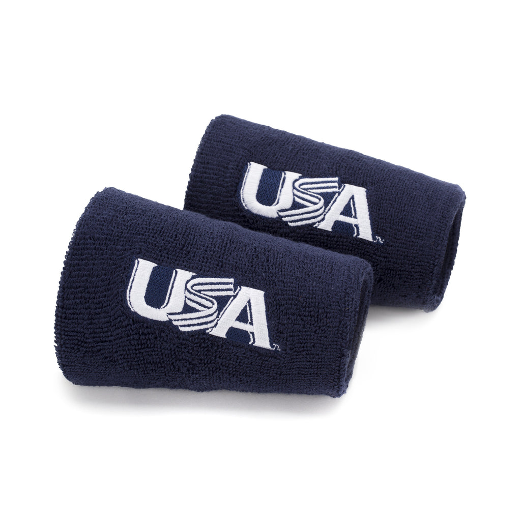 Navy 6 Inch Wristbands