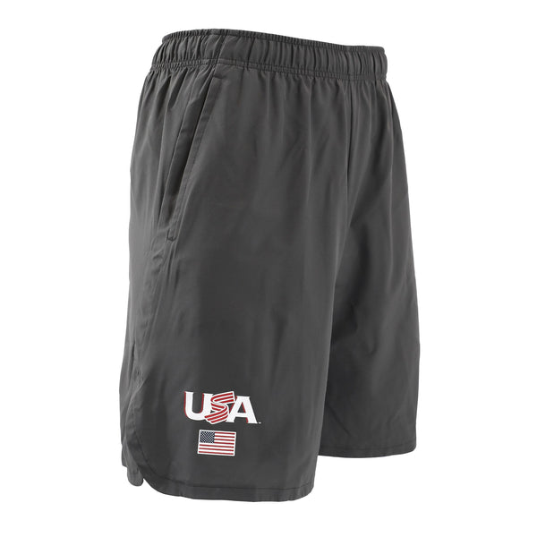 Nike Anthracite Jersey Logo Woven Training Shorts With Pockets