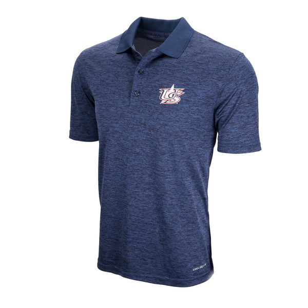 Navy Positive Production Polo