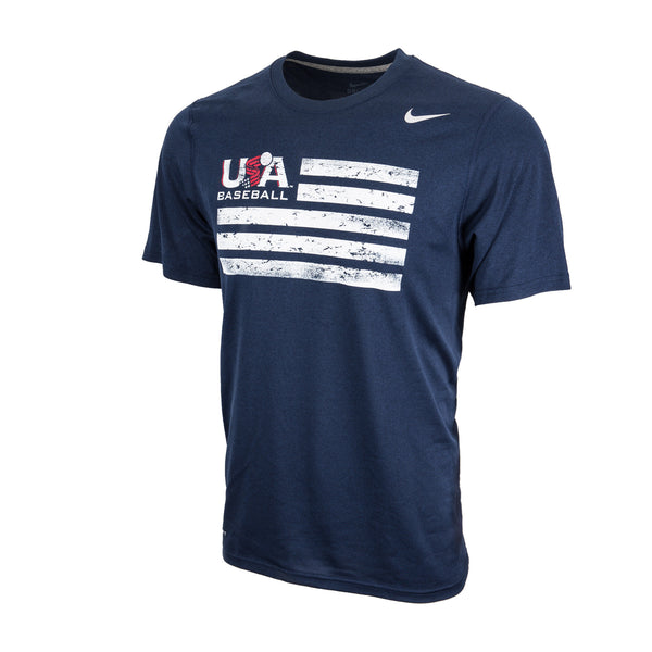 Navy Flag Logo Legend Tee
