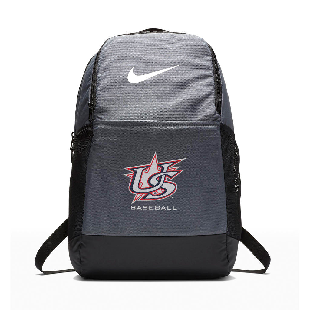 Nike Grey Brasilia Backpack