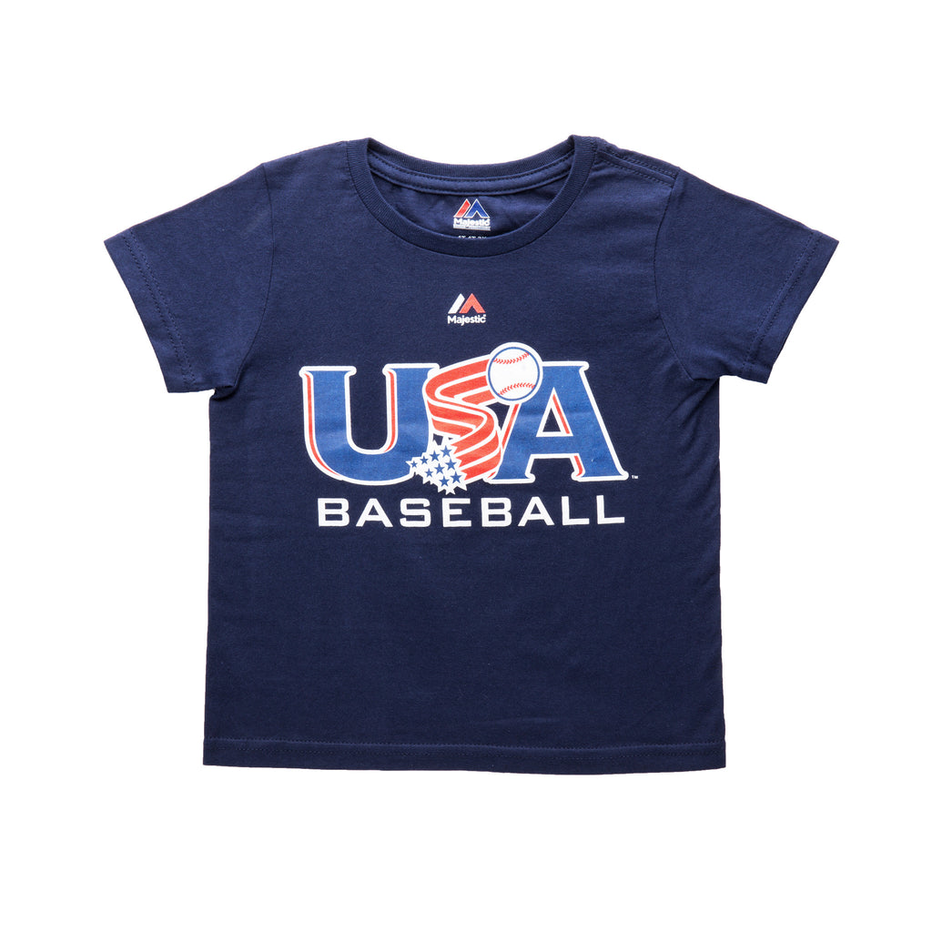 Toddler Navy Traditional Tee