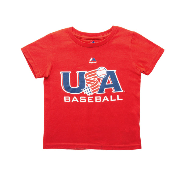 Toddler Red Traditional Tee