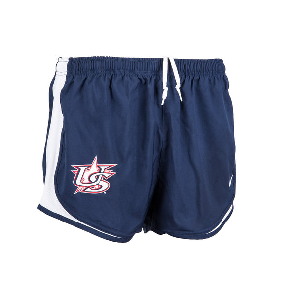 Navy Race Shorts