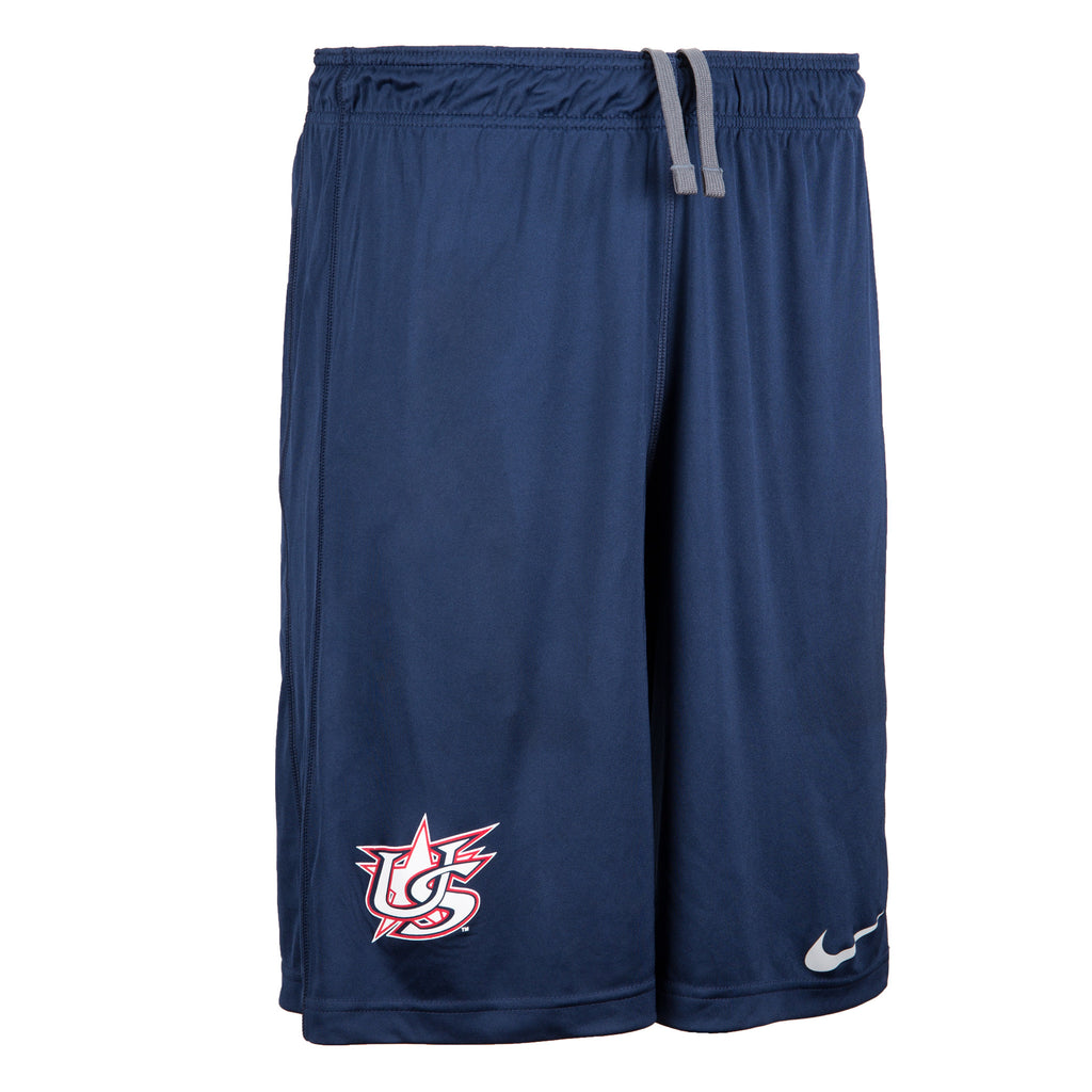 Youth Navy Shorts