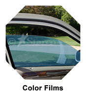 Color auto Window Tinting Film