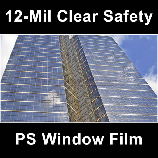 Clear Safety Window Tinting Film