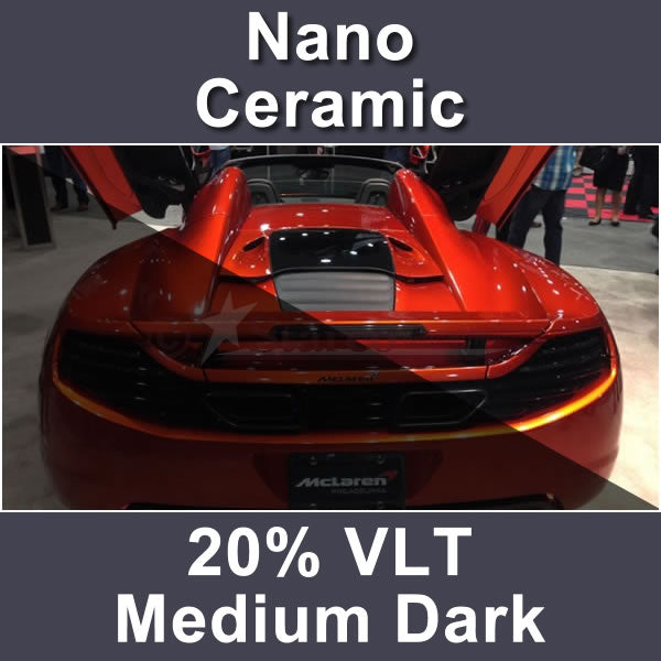 Nano Ceramic Auto Window Tinting Film