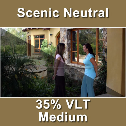 Scenic Neutral Window Tinting Film