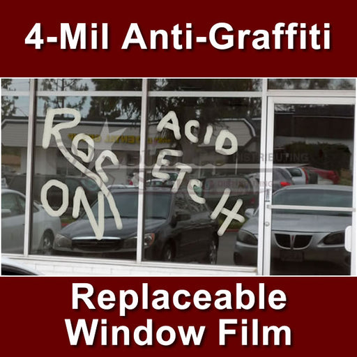 Anti-Graffiti Window Tinting Film