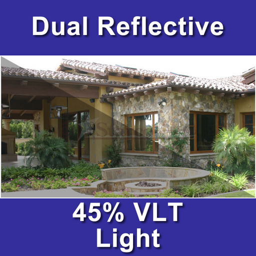 Dual Reflective Window Tinting Film
