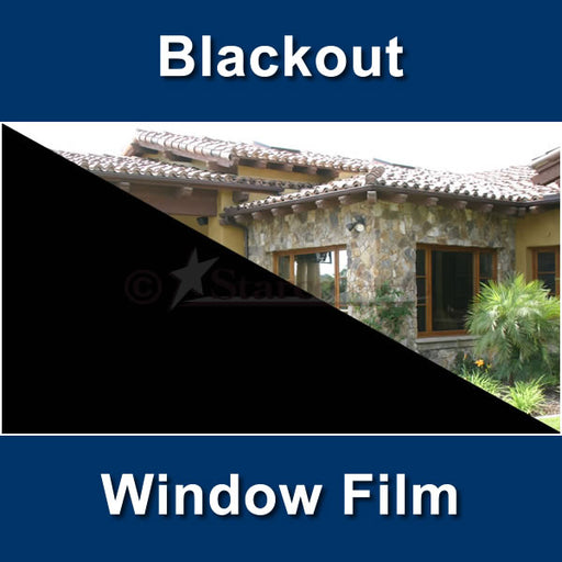 Blackout Window Tinting Film