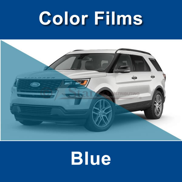 Blue Color Window Tinting Film