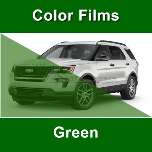 Shiny Green Window Tinting Film