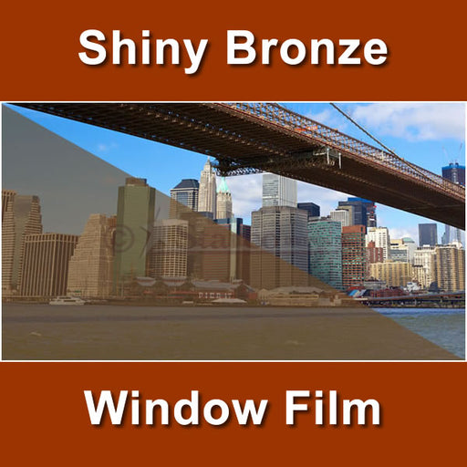 Shiny Bronze Color Window Tinting Film