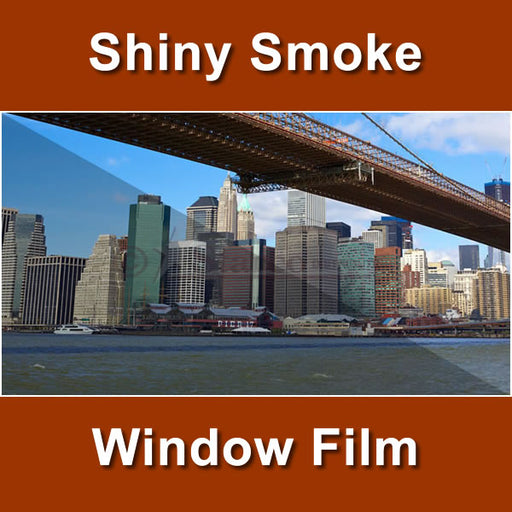 Shiny Smoke Color Window Tinting Film