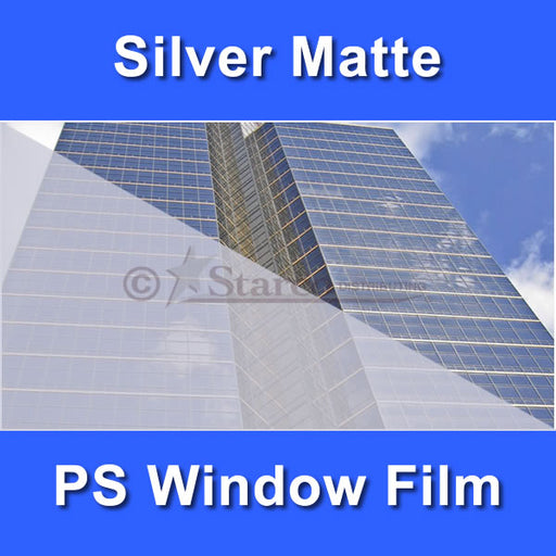 Silver Matte Window Tinting Film