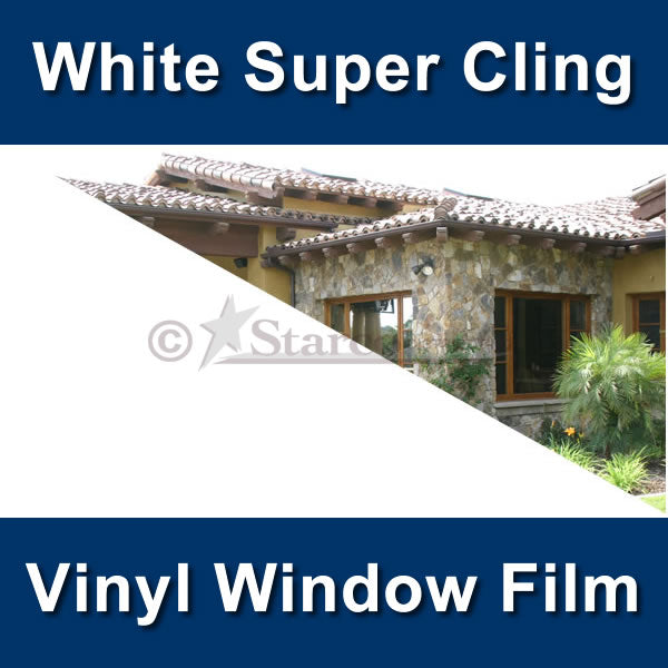 Super Cling Vinyl Window Tinting Film