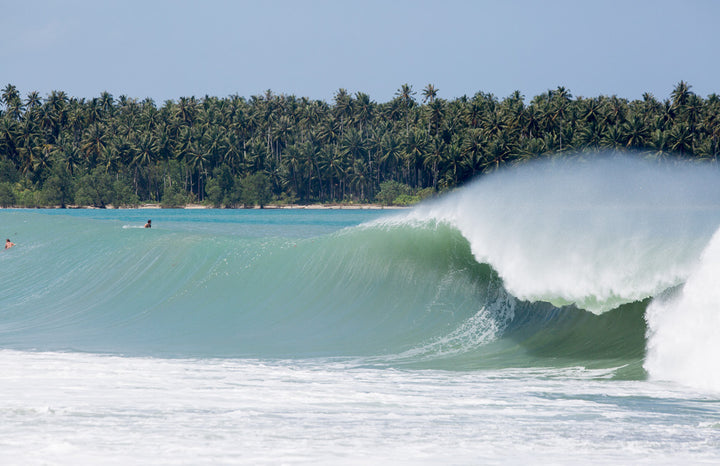 Surfing Nias in Northern Sumatra