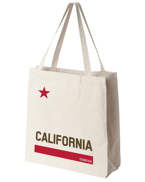 California Canvas Beach Tote bag