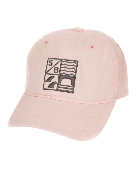 Sundance Beach Dad hat surf california cap hat pink