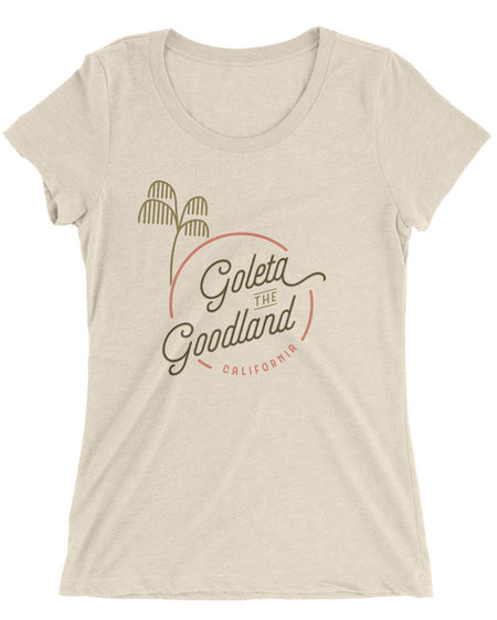 Goleta the Goodland Womens Surf Shirt Oatmeal