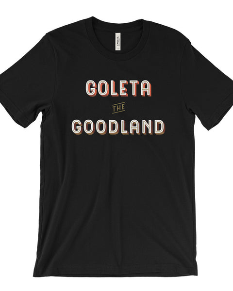 Goleta the Goodland Mens Surf Shirt Black