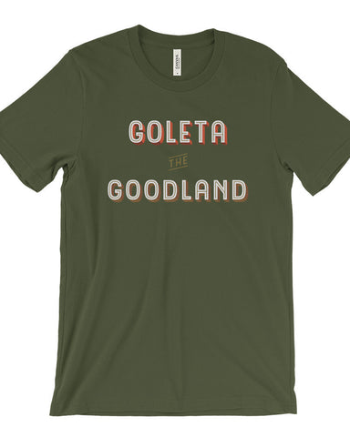 Goleta the Goodland Mens Surf Shirt Green