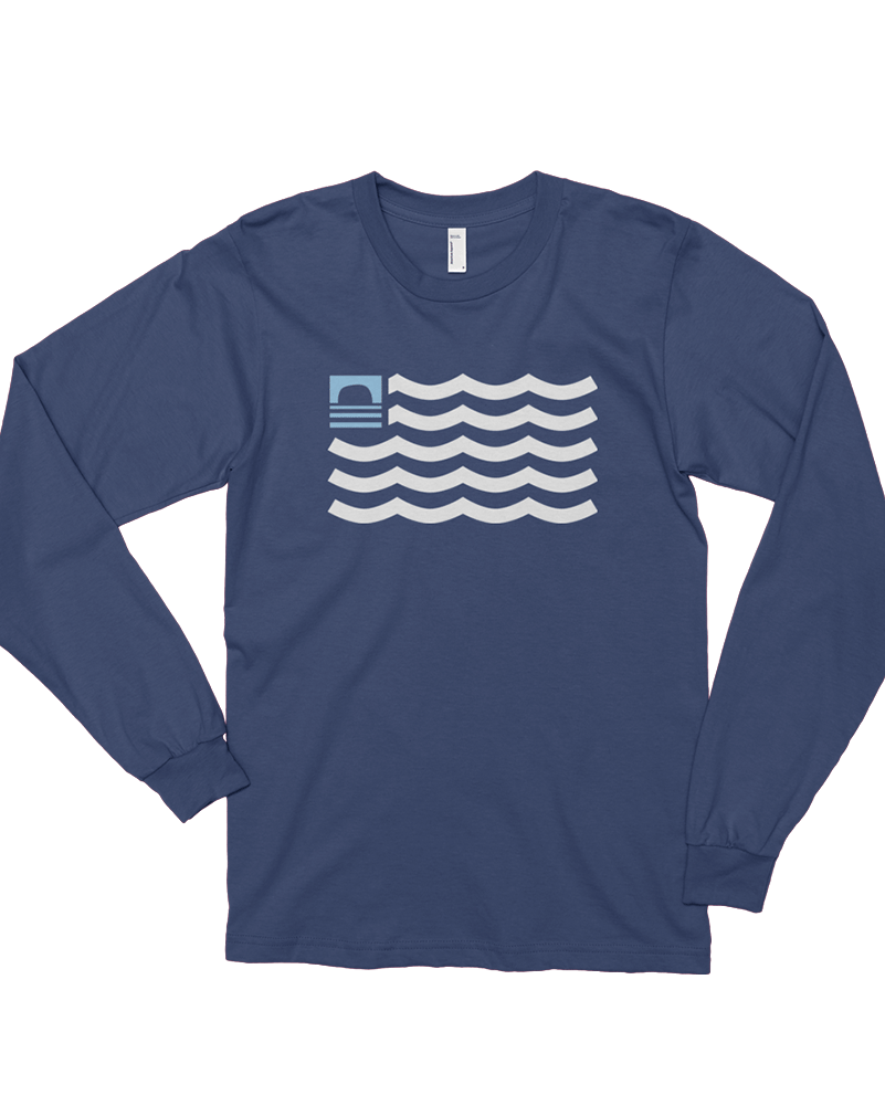 Sundance Beach Our Waves Mens Long-sleeve Tee