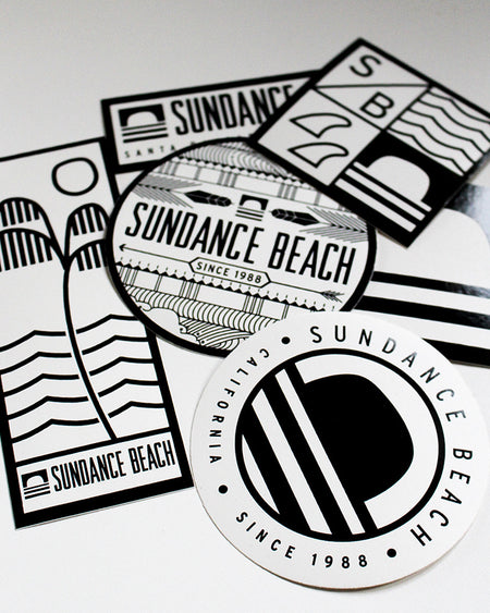 Sundance Beach Sticker Pack-cluster