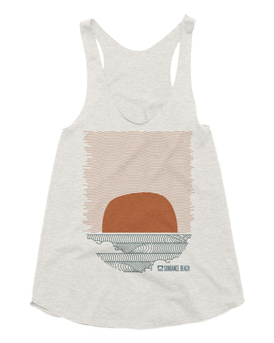 Sundance Beach Wavey Daze Racerback Tank Top