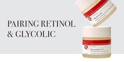 How to use retinol and glycolic acid to rejuvenate skin