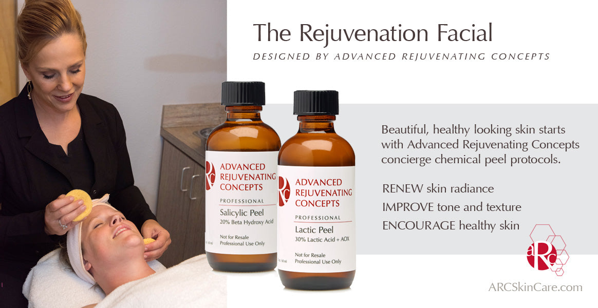 The Rejuvenation Facial - Chemical Peel protocol and benefits for all skin types