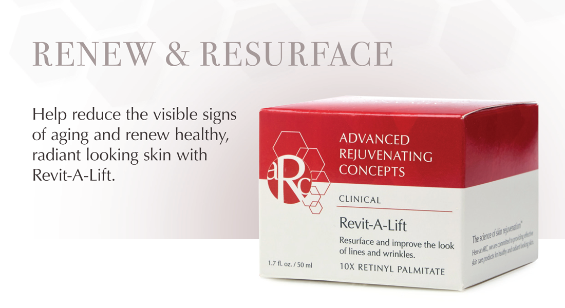 Renew and Resurface with RevitA-Lift Vitamin A Cream